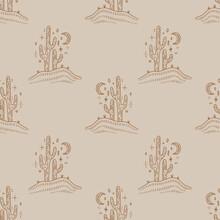 Desert Cactus. Navajo Ethnic C...