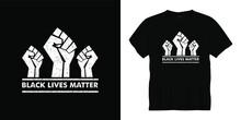 Black Lives Matter Typography ...