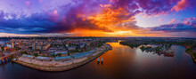 Sunset Over Dnipro