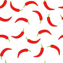 Chili Peppers Seamless Pattern...