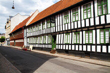 Details Of A Half Timbered Red...