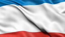 Flag Of The Republic Of Crimea...