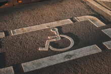 Disabled Parking Space In The ...