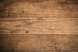 Old brown texture wooden background.Top view for design
