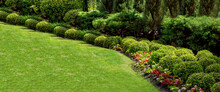 Well Maintained Garden Landsca...