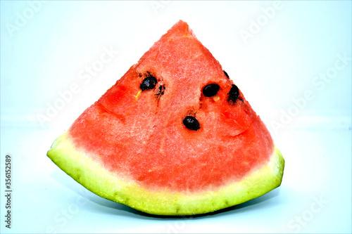 Vászonkép fetta di anguria rossa frutta fresca