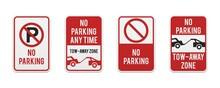 Graphic No Parking Signs. Clas...