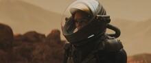 Caucasian Female Astronaunt We...