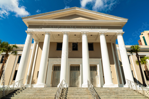 Supreme Court of Florida Building Canvas Print