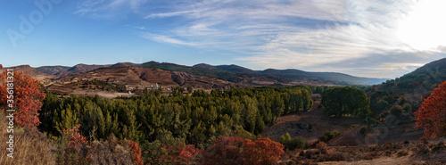 Otoño en Albarracín Canvas Print