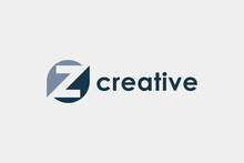 Abstract Initial Letter Z Logo...