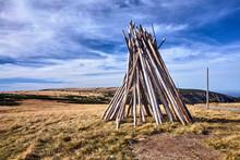 Poles For Marking Tourist Trai...