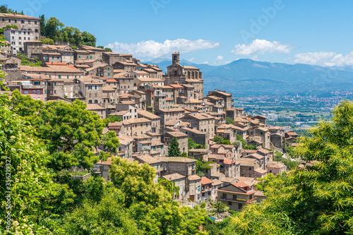 Patrica, beautiful little town in the province of Frosinone, Lazio, Italy Canvas Print