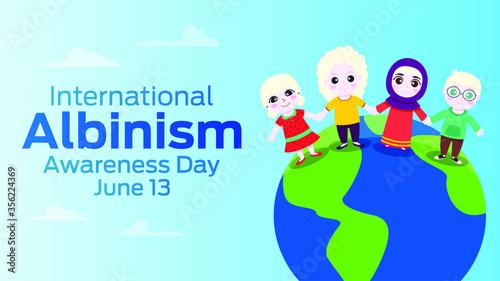 International albinism awareness day on june 13 Tapéta, Fotótapéta