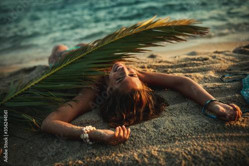 Obraz Sea, Sun And Summer Fun - fototapety do salonu