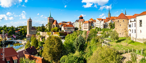 Fotomural View of Bautzen town in Germany