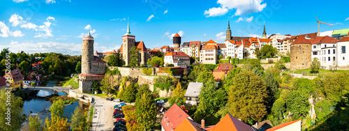 Fototapeta View of Bautzen town in Germany