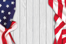 Vintage American Realist Flag ...