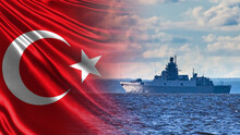 Turkish Navy. The Ship Against...