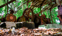 Old Sugar Mill In St. Lucia