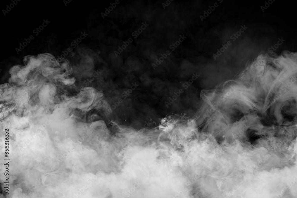 Fototapeta White smoke