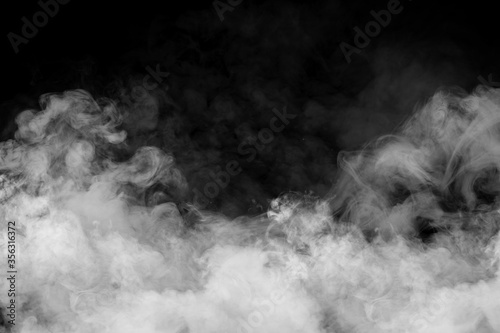 White smoke Canvas