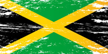 Vector Image Of The Jamaica Flag