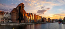 Gdansk With Beautiful Old Town...