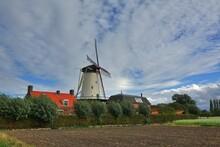 Windmühle Molen De Lelie In Koudekerke