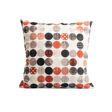 Soft Color Pillows On White Ba...