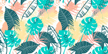 Seamless Exotic Pattern With T...