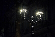 Street Lamp In Winter