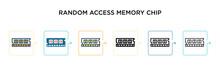 Random Access Memory Chip Vect...