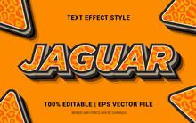 JAGUAR TEXT EFFECTS STYLE