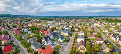 Fototapeta Panorama of the city of Reda obraz
