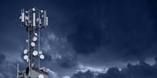 5G Network Transmitters On The...
