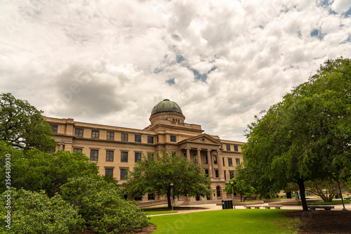 Canvas Print View of Texas A&M University in College Station, Texas