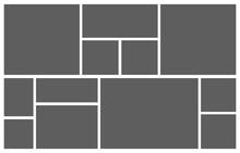 Collage Grid. Mood Board Photo...