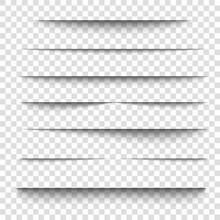 Paper Sheet Shadow Effect. 3D ...