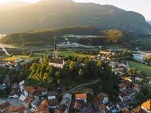 Kirche In Tamins, Graubünden,...