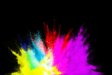 Launched Multicolored Powder O...