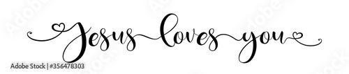 Fotografia Jesus loves you