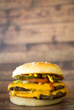 Western Double Cheeseburger