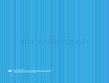 Background With Vertical Blue Stripes. Vector Graphics. Notebook Cover.