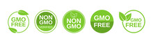 GMO Free Icons. Non GMO Label ...