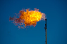 Gas Flare In The West Texas Oi...