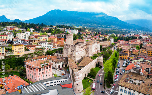 Photo Buonconsiglio Castle or Castello del Buonconsiglio is a castle in Trento city in