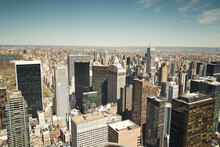 New York City View With Skyscr...
