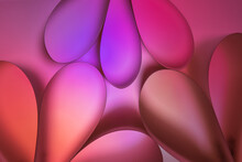 Abstract Pink And Purple Backg...
