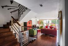 Modern Living Room Interior Wi...